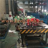 O dobro tomou o partido rolo do painel da prateleira de exposição do metal do supermercado que dá forma à máquina Vietnam da produção