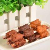 دجاجة لفاف حمراء سريان عصا وجبة خفيفة كلب محبوبة