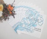 Las decoraciones encantadoras de la boda modificaron la servilleta para requisitos particulares de papel especial
