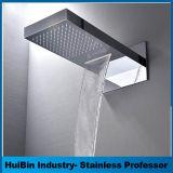 Esnbia роскошные душевые системы настенного монтажа душем с высоким давлением 12 дюйма душ и ручной душ под струей воды, матовый никель