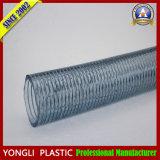 Boyau tressé de fil d'acier inoxydable de PVC