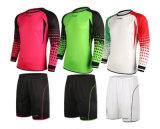 De Voetbal Jersey van Footy van de Sublimatie van de douane met Borrels & Overhemd