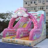 preço de fábrica na China Encaracolados Insuflável Castelo de saltos