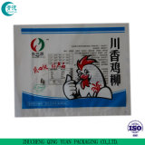 Impresa transparente segura para alimentos congelados LDPE Poly bolsa de embalaje