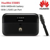 Huawei E5885 E5885ls-93A 300Mbps CAT6 4G Lte 근거리 통신망 포트를 가진 이동할 수 있는 WiFi 무선 대패 핫스팟