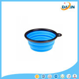 FDA & LFGB Standard 100% Food-Grade Coloré Silicone Pliable Pet Bowl