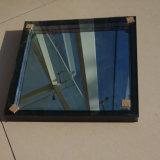 Low-E 15mm+15+21un mm des panneaux de verre trempé transparent double