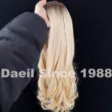 Vietnamita de larga peluca cabello humano.