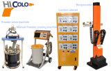 Revestimiento de polvo electrostático automático sistemas de pulverización de pintura para puerta