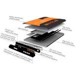 De mobiele Lader van de Batterij van de Telefoon voor de Melkweg van Samsung S4