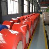 Bobina de aço Galvalume Prepainted PPGI/PPGL médios a quente de aço com revestimento de cor de bobina para Telhas Metálicas