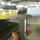 レーザーおよび彫版1.3mm 600*1200mmのABSシートの倍カラーシート