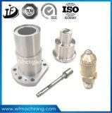 Kundenspezifische Präzisions-maschinell bearbeitenteile mit CNC-Ausschnitt/Bohrmaschine