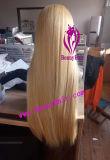 100% Brasileña Huma Cabello peluca de encaje completo de alta calidad directamente de la Seda Precio al por mayor