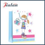 Kledingstukken die van het Meisje van de douane 4c de Afgedrukte het Winkelen de Zakken van de Gift van het Document inpakken