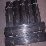 Cold-Drawn fils faible en carbone revêtus de PVC double boucle de fil Tie