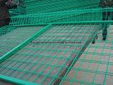 Ограждать строба сада зеленого цвета низкой цены порошка Coated