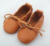 Little Kids pleno couro Calçado de bebé