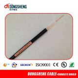 Bc 95%20AWG CCA de tressage de câble coaxial RG59 siamois