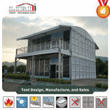 Two Storey Doubles Decker Structure with Glass Wall and ABS Wall
