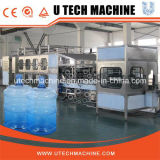 Automática de 5 galones botella de agua de lavado de llenado Máquina que capsula