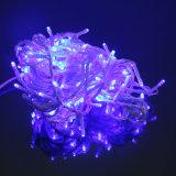 크리스마스 훈장을%s 파란 LED 요전같은 끈 빛