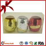 Het metaal Ei van het Lint van pp voor de Verpakking van de Gift