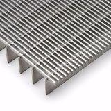 Rejilla de acero galvanizado cubierta de rejilla de zanja de drenaje de piso