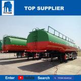 Titan Tri-Axle camion-citerne le pétrole brut pétrolier 36000 litres de carburant pétrolier Remorque semi-remorque