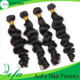 JUNGFRAU-Brasilianer-Haar der Karosserien-Wellen-Menschenhaar-Extensions-100% unverarbeitetes Großhandels