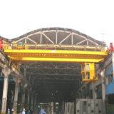 Aço magnético da ponte que segura o guindaste aéreo