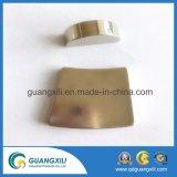 N54m ronda sinterizado /Anillo con imanes de NdFeB chapado en oro
