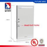 Высококачественные металлические ключевых постов в кабинете для хранения ключей с помощью ключа крюки внутри блокировки