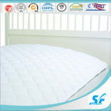 Elastic 200GSM를 가진 233tc Beige Color Mattress Pad