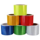多彩な接着剤PVC反射マーキングの蜜蜂の巣の警告または注意テープ