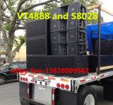 Vt4888 verdoppeln eine 12 Zoll-Dreiwegezeile Reihen-Lautsprecher (1700W)