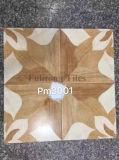 houten 40X40cm kijken de Verglaasde Tegel van de Vloer van Inkjet