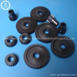 Engranajes de plástico de alta resistencia, pequeños engranajes de ruedas de plástico, engranaje molde