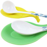Vente en gros de cigares colorés multi-usages Spoon Rice Silicone Scoop Mat