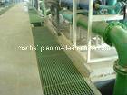 화학 플랜트를 위한 부식과 충격 저항 FRP에 의하여 주조되는 격자판