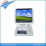 Quiosque de gerenciamento de visitantes de desktop, quiosque de fila de informações