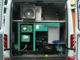 10kVA 15kVA 20kVA 30kVA는 차량을 광고하는 트럭 얼음 차를 위한 소비 디젤 엔진 발전기를 일제 낮춘다
