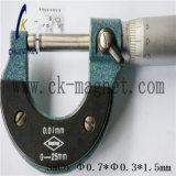 Ck-213 SmCo grado magnético Φ Φ 0.7*0.3*1,5 mm