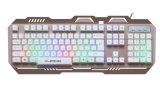 Ce сертификат RoHS алюминиевого сплава геймер клавиатуры (КБ-906-эль-C)