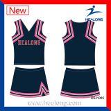女の子のためのHealongのスポーツ・ウェアの昇華チアリーディングのユニフォーム