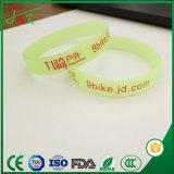 Bracelet lumineux personnalisé, Bracelet en caoutchouc pour adultes et enfants
