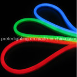 120PCS/M 파란 LED 네온 코드를 가진 최고 질 방수 유연한 네온