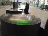 Cojín de goma laminado del cojinete del puente con el estándar de Aashto vendido a Omán