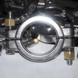 Para Servicio Pesado de acero inoxidable de alta presión Tri-Clamp abrazadera