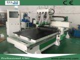 Grabado del CNC y herramienta de la maquinaria del corte